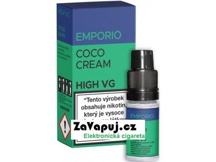 Liquid EMPORIO High VG Coco Cream 10ml - 1,5mg