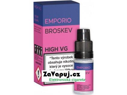 Liquid EMPORIO High VG Peach 10ml - 0mg