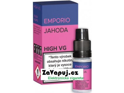Liquid EMPORIO High VG Strawberry 10ml - 1,5mg