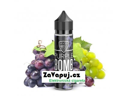 Purple Bomb (Hroznový mix) 20ml
