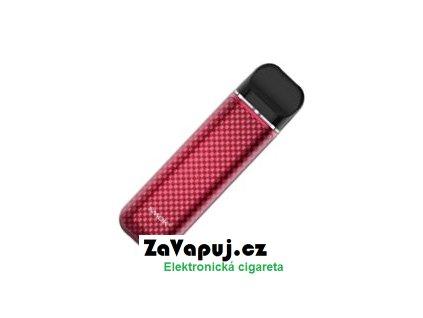Elektronická cigareta Smoktech NOVO 2 800mAh Red Carbon Fiber