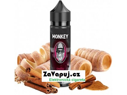 Příchuť MONKEY liquid Shake and Vape Cindou 12ml