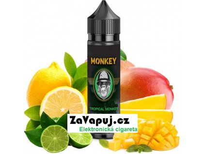 Příchuť MONKEY liquid Shake and Vape Tropical Monkey (Citrusový mix s mangem) 12ml