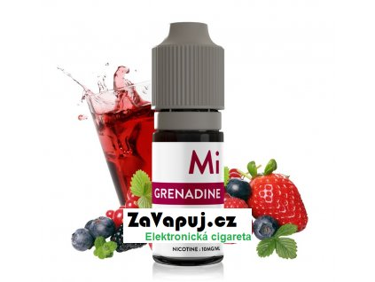 Liquid The Fuu MiNiMAL Grenadine (Ovocný sirup) 10ml 10mg