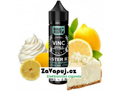 Příchuť VINC Shake & Vape Master Key (Tvarohový cheesecake, smetana a citron) 10ml