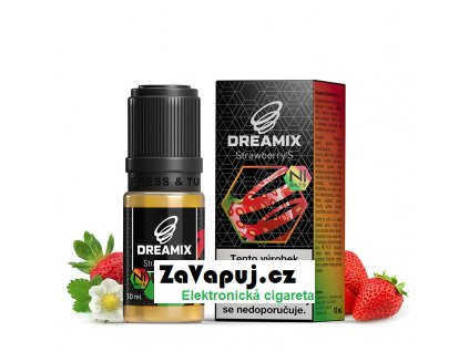 dreamix salt jahoda strawberry s