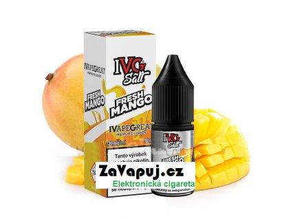 Liquid IVG Salt Fresh Mango (Šťavnaté mango) 10ml 10mg