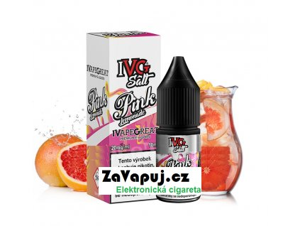Liquid IVG Salt Pink Lemonade (Grepová limonáda) 10ml 10mg