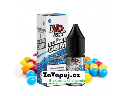 Liquid IVG Salt Bubblegum (Sladká žvýkačka) 10ml 10mg