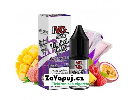 Liquid IVG Salt Tropical Berry Chew (Tropická žvýkačka) 10ml 10mg