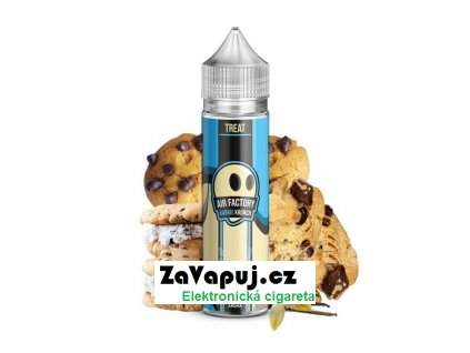 Příchuť Air Factory Shake and Vape Kookie Krunch (Cookie sušenka s čokoládou) 15ml