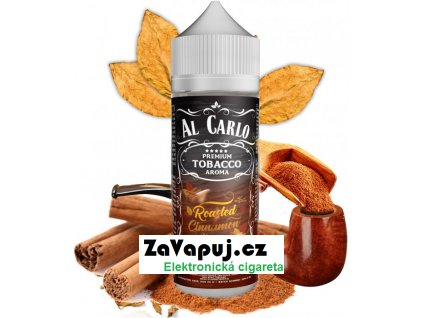 Příchuť Al Carlo Shake and Vape 15ml Roasted Cinnamon