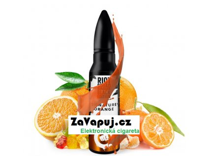 Příchuť Riot Squad Black Edition Shake & Vape Signature Orange (Ovocné želé bonbony) 20ml