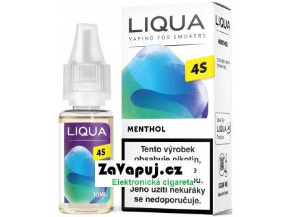 Liquid LIQUA CZ 4S Menthol 10ml-20mg