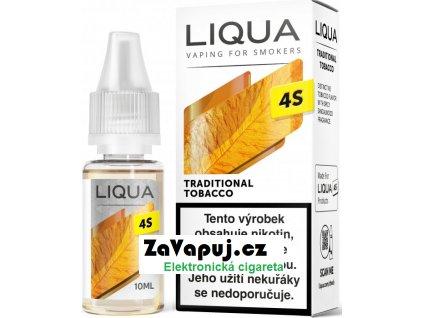 Liquid LIQUA CZ 4S Traditional Tobacco 10ml-20mg