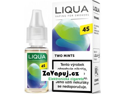 Liquid LIQUA CZ 4S Two Mints 10ml-20mg