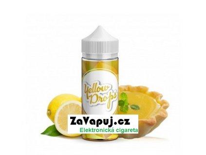 Příchuť Infamous Drops Shake and Vape Yellow Drops (Citronový koláč) 20ml