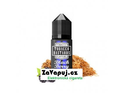 Příchuť Tobacco Bastards Black Berry (Tabák s ostružinou) 10ml