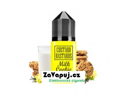 Příchuť Custard Bastards Milk Cookie (Cookie sušenka s pudinkem) 10ml