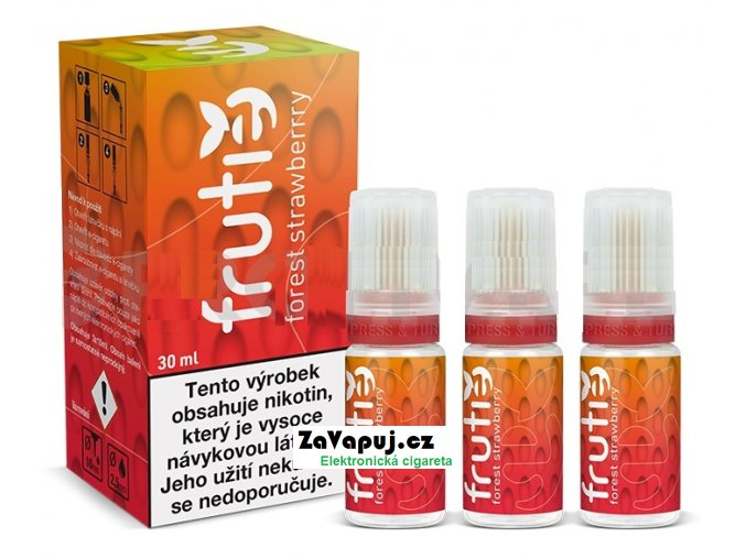 frutie lesni jahoda forest strawberry 30ml