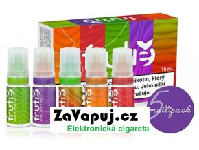 frutie e liquid napln juice variety pack multipack 5x10ml