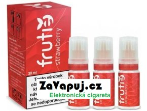 E liquid Frutie Jahoda (Strawberry) 30ml