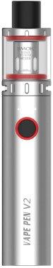 Elektronická cigareta Smoktech Vape Pen V2 1600mAh Stříbrná 1ks