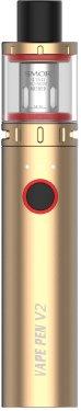 Elektronická cigareta Smoktech Vape Pen V2 1600mAh Zlatá 1ks