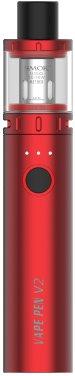 Elektronická cigareta Smoktech Vape Pen V2 1600mAh Červená 1ks