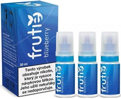 Liquid Frutie - Borůvka (Blueberry) 30ml 5mg