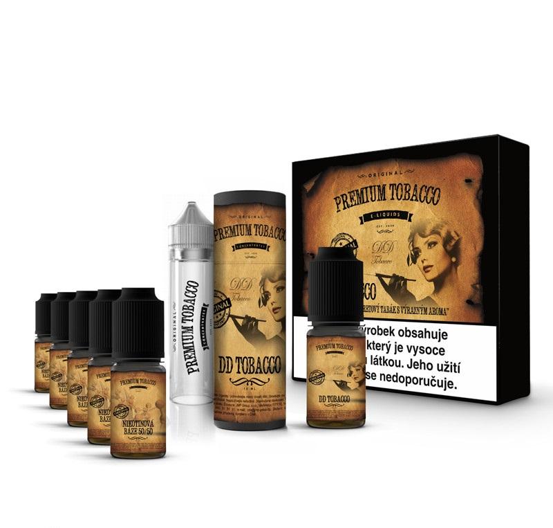 Liquid Premium Tobacco - DD Tobacco 6x10ml 12mg