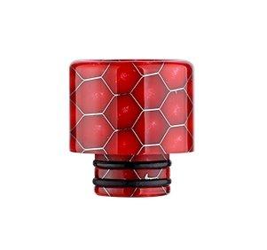 Snake Pattern 510 náustek pro clearomizer Red 1ks