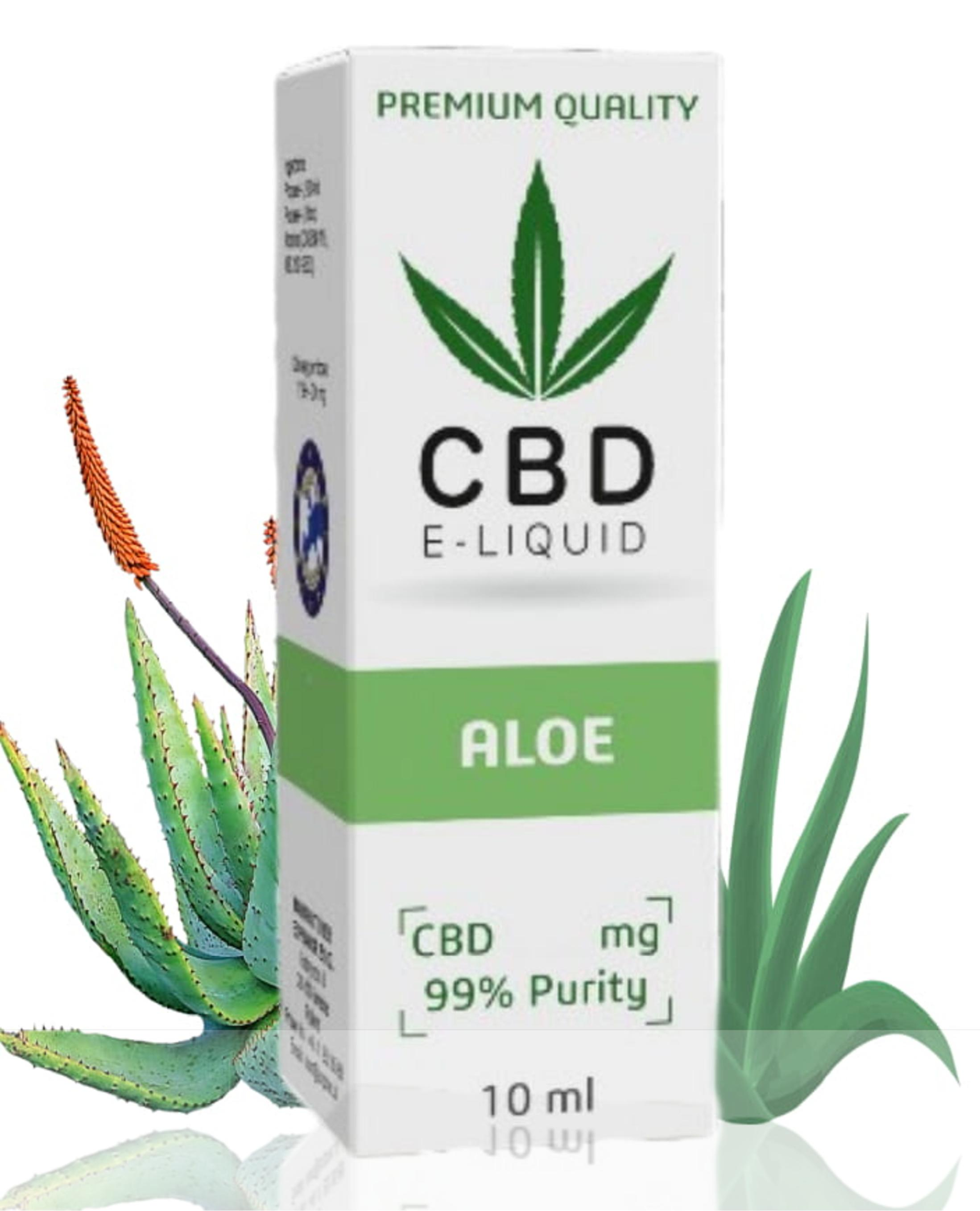 Expran Group CBD Vape Liquid Aloe 10 ml 300 mg