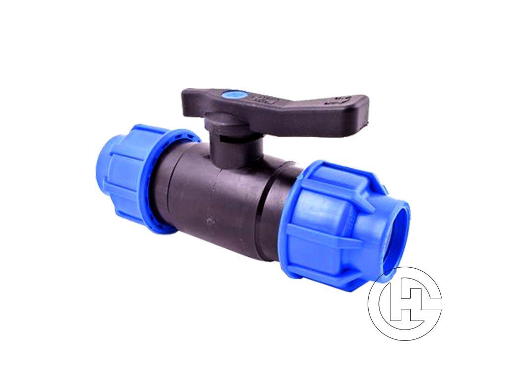 Guľový ventil hadica plast kov 25 2