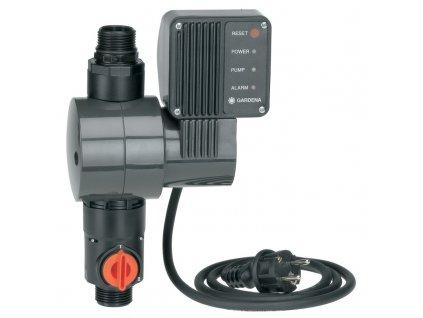 Elektronický tlakový spínač s pojistkou proti chodu nasucho