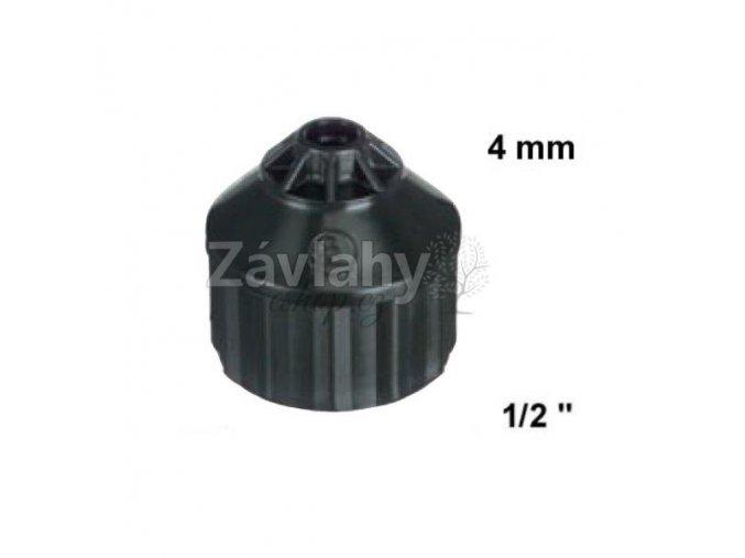 """Adaptér vnitřní 1/2"""" závit / T (4,0 mm) vnitřní"""