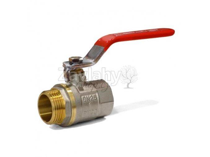 """Kulový ventil MF s pákou - standardní závit / připojení 1"""""""
