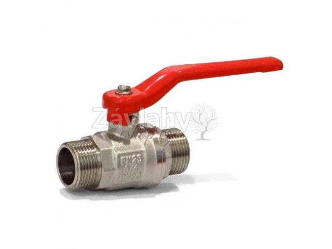 """Kulový ventil MM s pákou/motýlkem - standardní závit / 3/4"""" motýlek"""