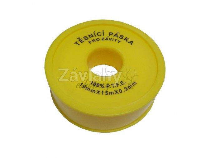 Extra pevná teflonová těsnící páska / 19mmx15mx0,2mm