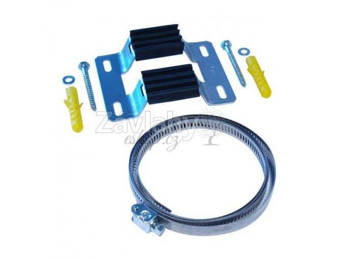 Souprava na upevnění tlakové nádoby na zeď / 50-425mm