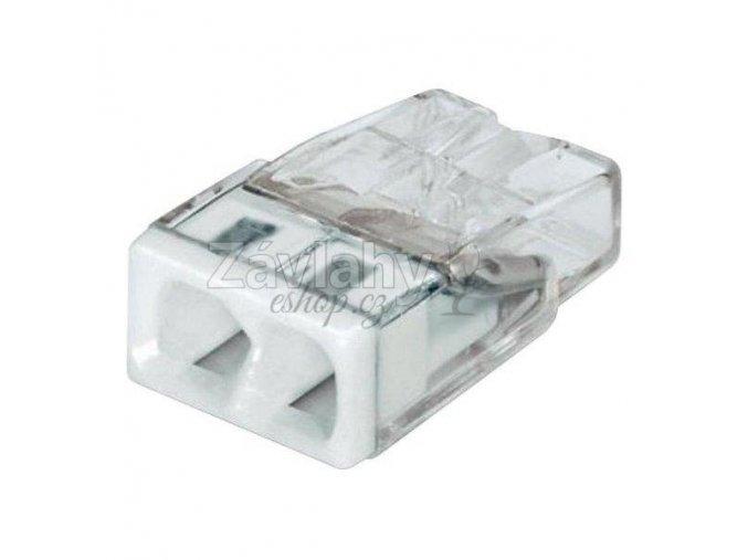 Svorka na vodiče WAGO COMPACT / 2 x 0,75 - 2,5 mm