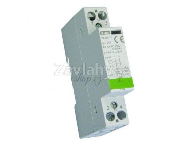 VS 220-11, spínání do 1,3 kW AC3, ovládání 24 V AC / DC