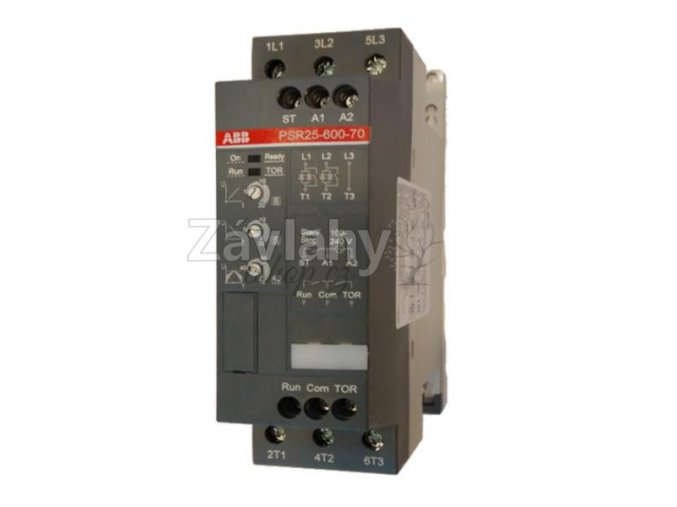 Softstarter PSR 16 pro čerpadla, ovládání 230 V AC