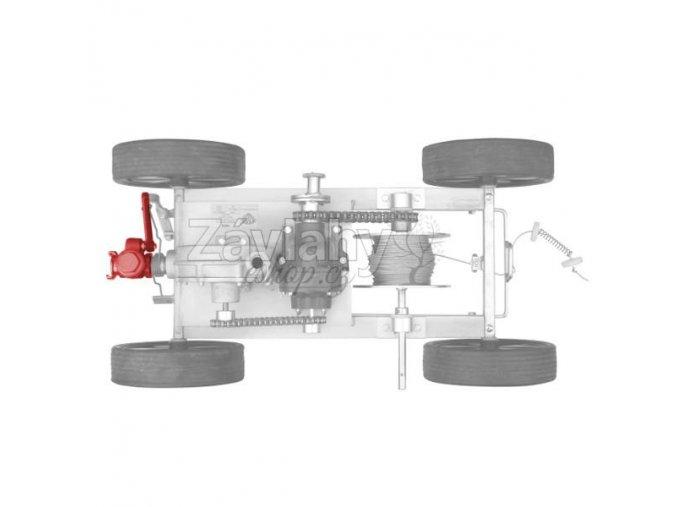 Uzavírací ventil REMO 3T - [R3-186]