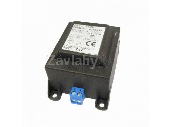 Transformátor na DIN lištu 230 V / 24 V AC, 20 VA