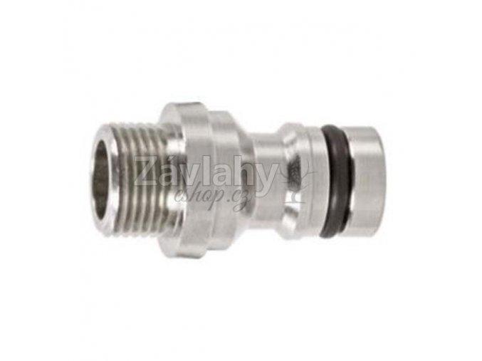 "Hadicový adaptér vnějším závitem 1/2"" GEKA / 3/4"" M"