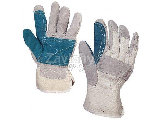 Pracovní kombinované rukavice FALCO / vel. 10