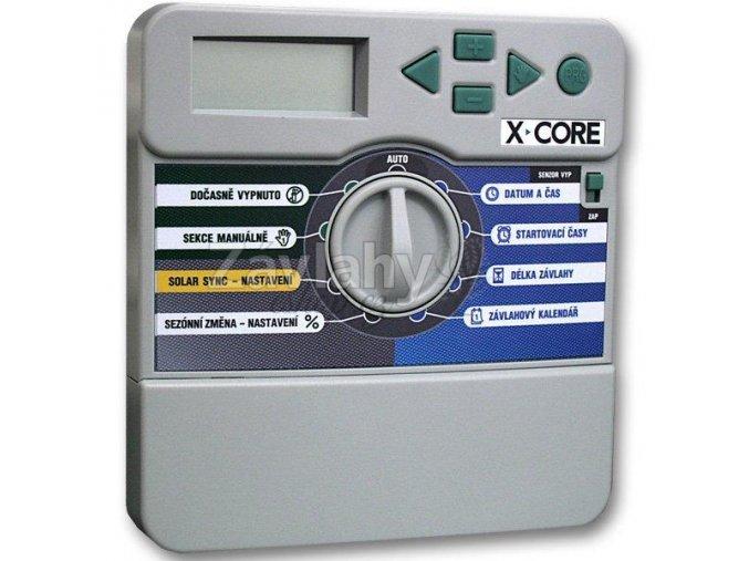 """Hunter """"X-Core(i)"""" 8 sekcí, Solar Sync, pauzy mezi sekcemi"""
