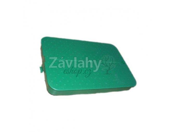 Náhradní víko k ventilové šachtici STANDARD PC - zelené