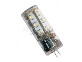 Power LED válec, 12 V AC, 2 W, Teplá bílá